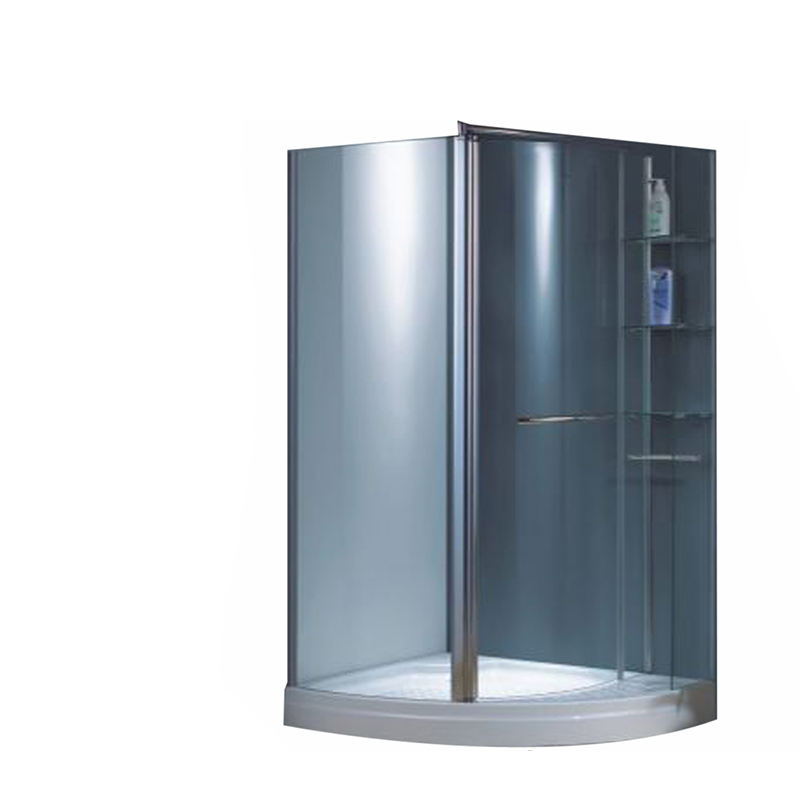 Chrome Aluminum Profile for Glass Shower Doors