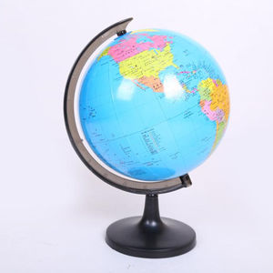 14.16CM Illuminated Blue Ocean Desktop World Earth Globe