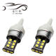 T20 led Canbus light 12V/24V T20 7440/7443 2835 15SMD Can-bus No Error Free Led Turn Light Backup Parking Lamps canbus bulbs