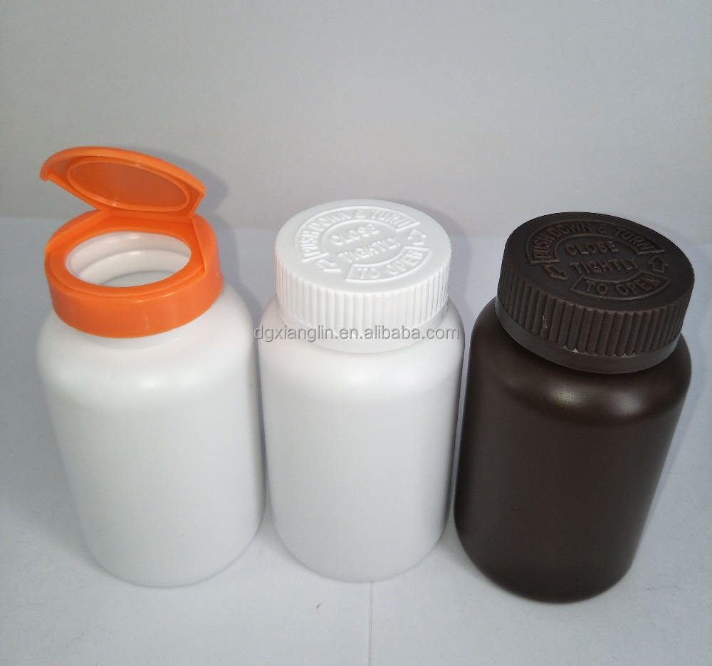 150cc Custom Color Plastic HDPE Capsule Containers Pill Bottle