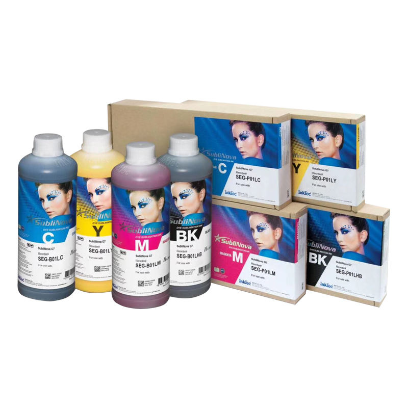 top quality six and four colors ink mate SEG sublimation imported korea