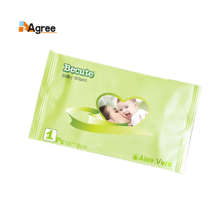 OEM Brand Baby Hygiene Individually Packing Wet Wipes