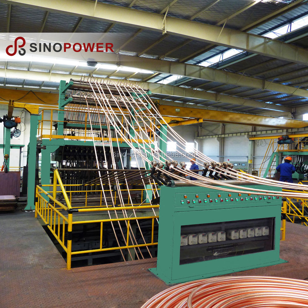 Upward/up Continuous Casting Machine for 6-24 mm Copper Rod (Provide Overseas After-sale Service)