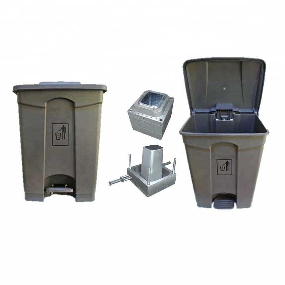 Custom Injection Plastic Large 80L 80 Litre Kitchen Home Rubbish Bin Mould