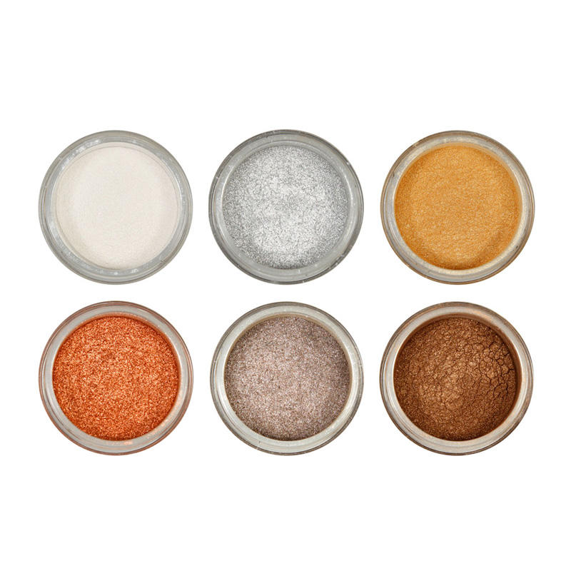 High Quality OEM / ODM Natural Mineral Makeup Eye Shadow Private Label Glitter Eyeshadow