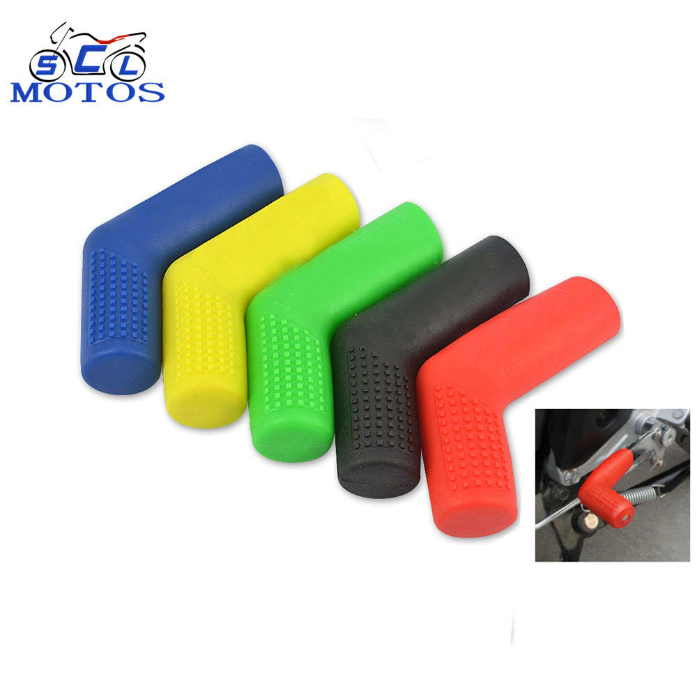 Universal Motorcycle Gear Shift Lever Rubber Sock Gear Shifter Boot Shoe Shift Case Protectors Covers Moto Replacement Parts
