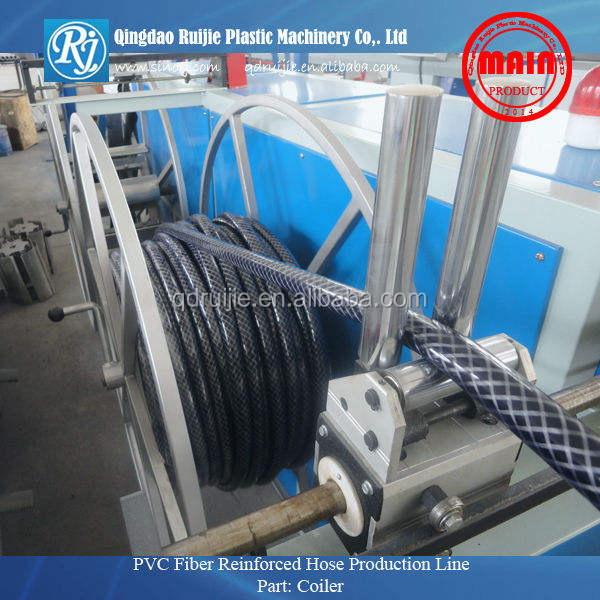 pvc fiber reinforced hose machine