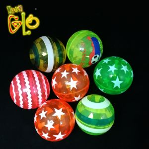 2020 New Arrival Flashing Halloween Bouncy Ball Toys