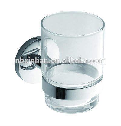 нержавеющей стали стеклянный стакан и массажер держатель вспомогательное оборудование ванной комнаты