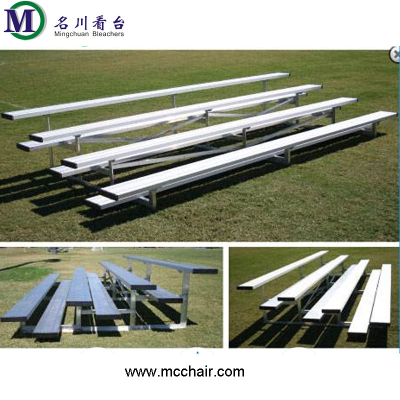 MC-4F metal grandstands outdoor football area bleachers for baseballs rugby entertainment sports games