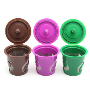 Newest reusable filter eco-friendly keurig k cup refillable k cups reusable nespresso coffee capsule