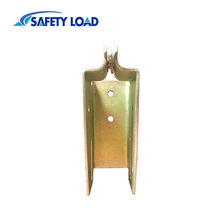 High Quality Wood End Socket for E-Track Yellow zinc E Track Beam Socket