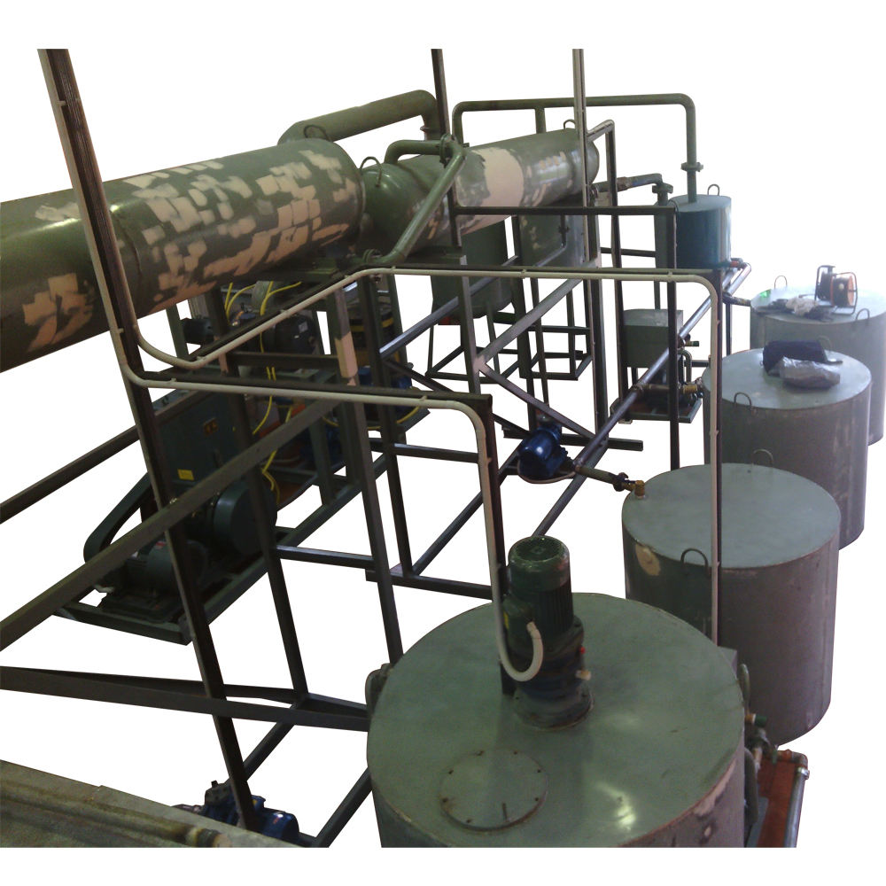 High profit business! New small-scale refinery for clean base oil ! ZSA china High profit waste oil regeneration machine