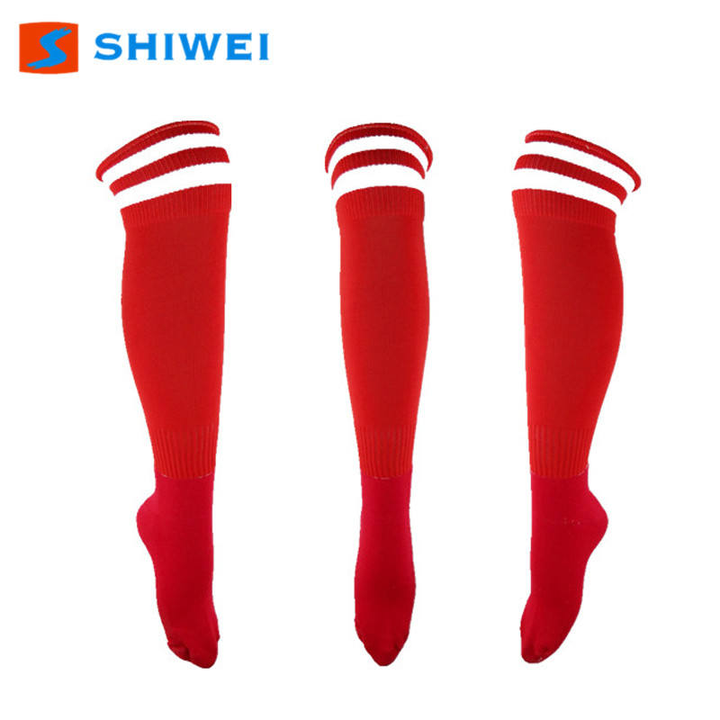 SHIWEI-9003#Customized Brand Fashional Cotton long soccer Socks