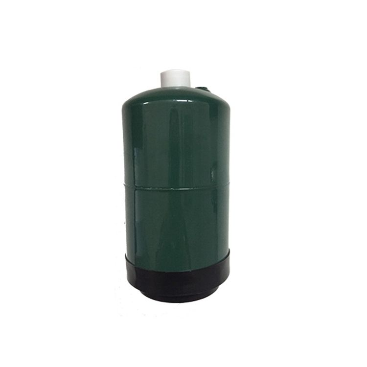 1lb empty propane fuel tank bottle cylinder for camp stove 16oz