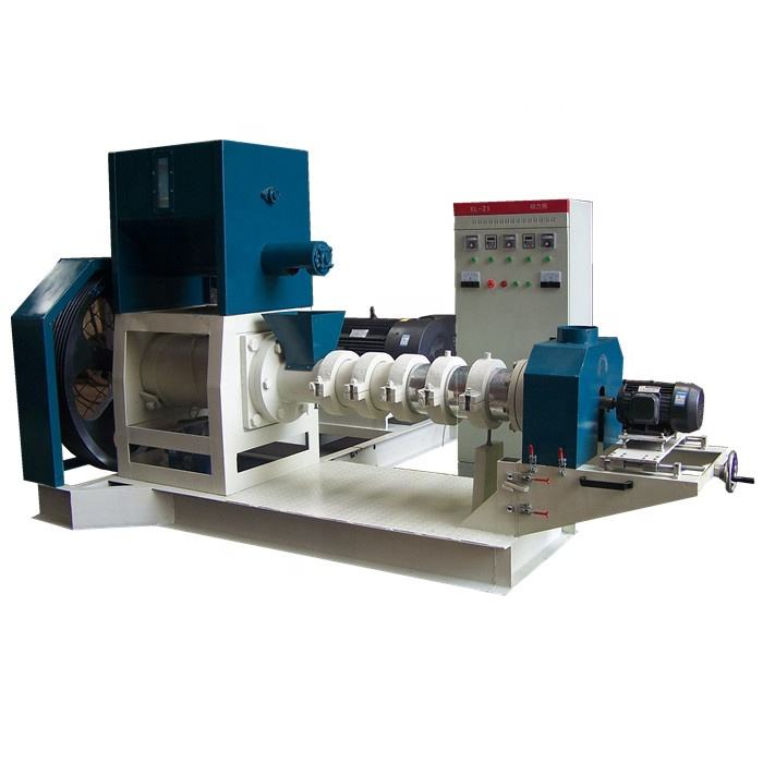 Best selling wholesale shrimp feed equipment animal fish pet extruder machine