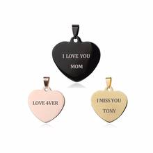 Olivia wholesale chunky I love you mom pendant acrylic alphabet letter charms for DIY jewelry making