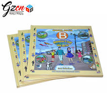 custom printing hardcover baby story coloring memory child book