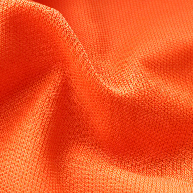 100% Polyester One Side Brushed Tricot Mesh Fabric For Sports Wear/School Uniform/Sports Shoes