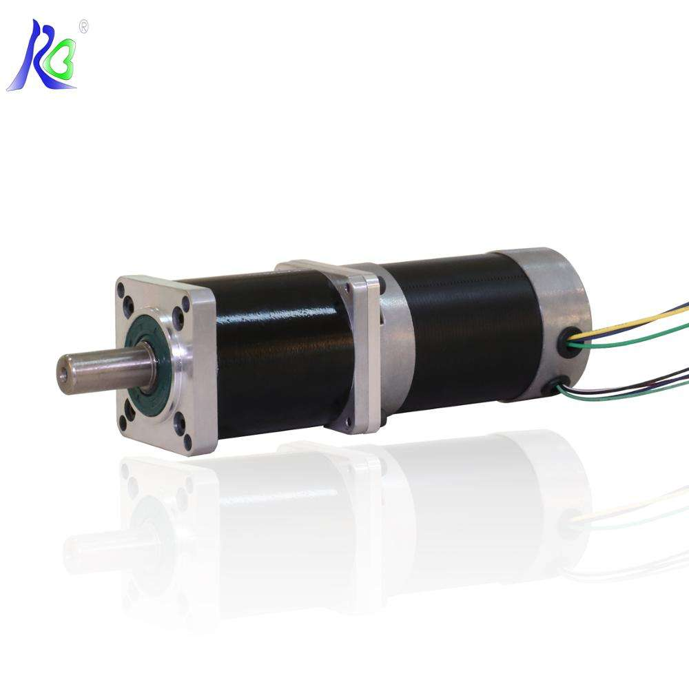 3 Phase 48V 150W 3000RPM BLDC Gear Reducer Brushless DC Motor