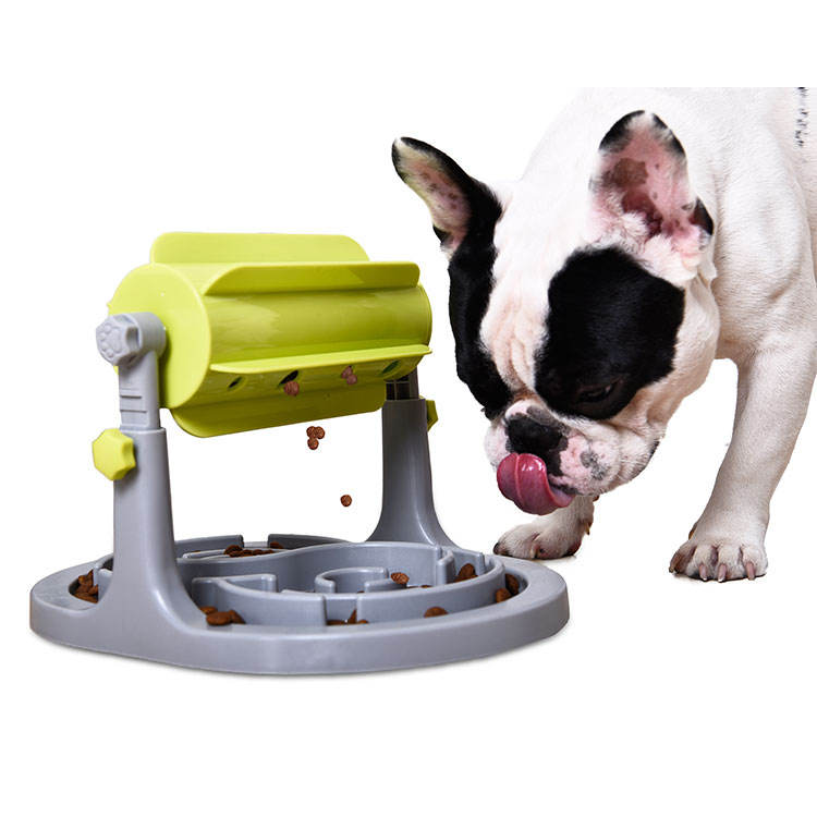 Smart Automatic Pet Feeder Plastik Anjing Pet Feeder Lambat, Anjing Pengumpan Smart
