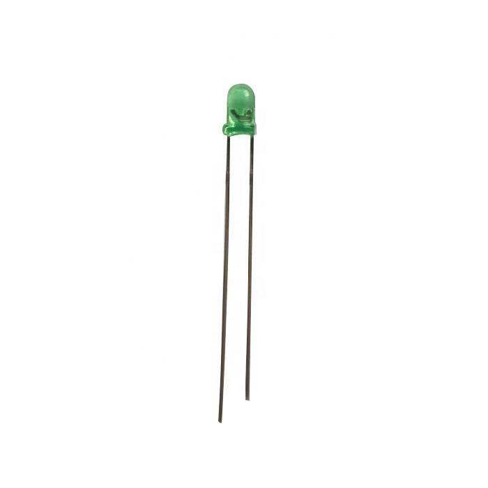 Factory price round led diode 3mm 20ma super bright light