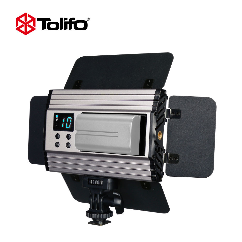 Tolifo DC15V Portable Photo Light LED Camera Video Soft Panel Lights