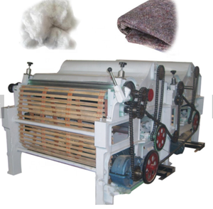 Automatische textile stoff abfall recycling maschine/abfall kleidung textil recycling rag reißen maschine