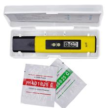 LCD Digital PH Pen Water quality Tester Pocket Portable PH Meter Tester with ATC For Water