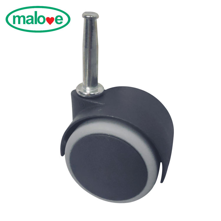 50mm Gray without brake Swivel furniture office desk chair caster Wheels