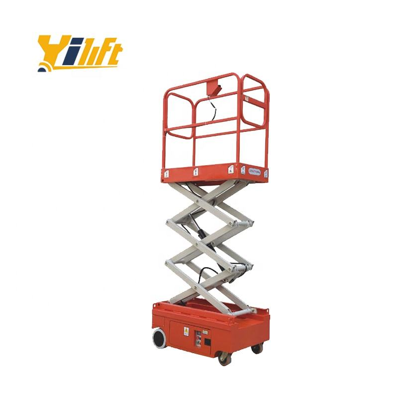 Small self-Propelled elevated work platform 3.9M