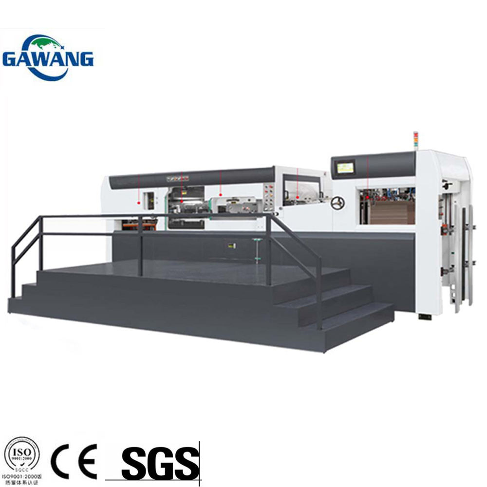 High Speed Stable Performance Corrugated Paperboard Die Cutting And Creasing Making Machine