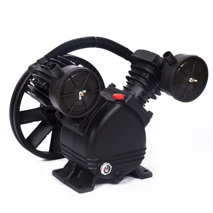 small electric 3hp air compressor pump portable 8bar V2065 direct drive air compressor pump head