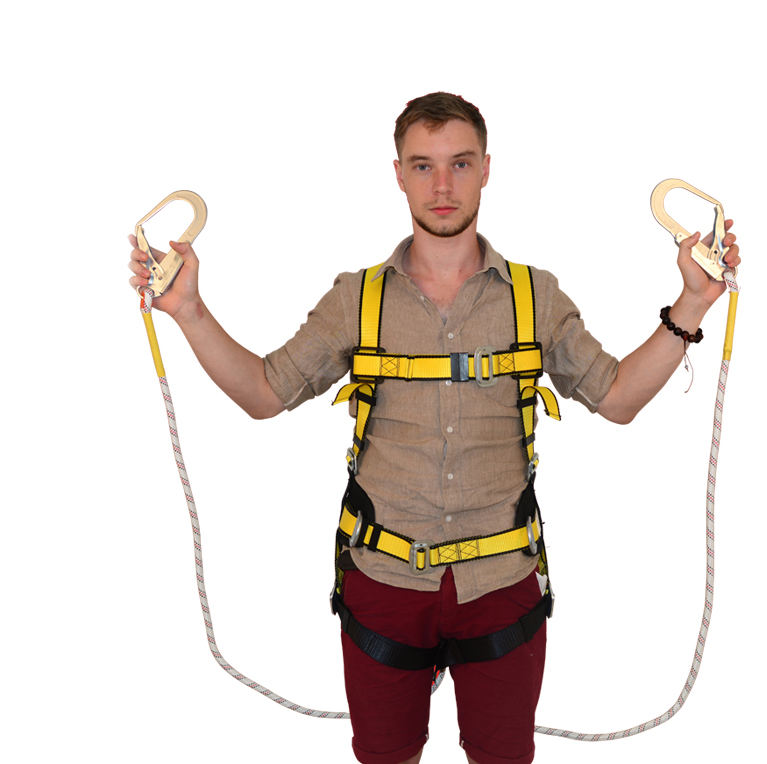 <span class=keywords><strong>Warna-warni</strong></span> Full Body <span class=keywords><strong>Safety</strong></span> <span class=keywords><strong>Harness</strong></span> dengan Lanyard
