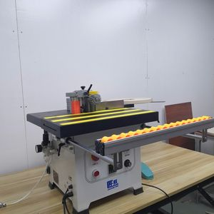Quality warranty new product of desktop wood edge banding machine in stock