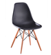 Durable [ Chair ] Chair Design Plastic Home Living Room Restaurant Silla Solid Wood Leg Dining Chair