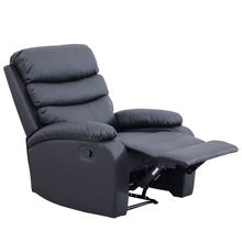 2019 hot salle synthetic leather modern recliner sofa for living room