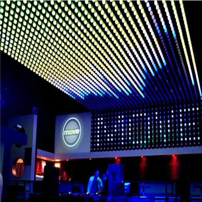 Very deluxe amazing lighting effect disco bar night club led decor solution