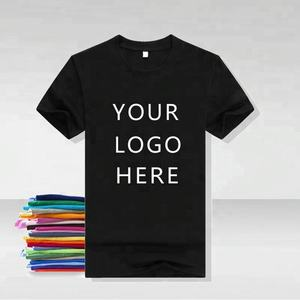 Byval Fashion New Style High Quality Cheap Blank Black 100% Cotton Men's T-shirts Custom Tshirt Printing Custom T Shirt