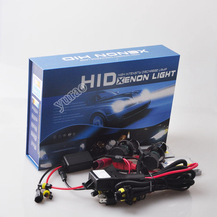 Slim ballst h4 hi lo hid xenon light conversion kit for universal car