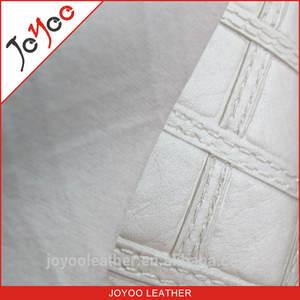 Fresco e elegante padrão de diamante de couro do pvc para o saco, pvc sofá de couro sintético, material de pvc para a decoração