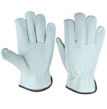 High quality safety pig leather gloves