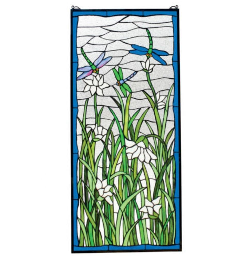 Dragonfly Ontwerp Opknoping Stained Glass Window TW6203