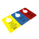 Factory Price Plastic Card Manufacture Hotel Hanger PVC Customized Door Hanger