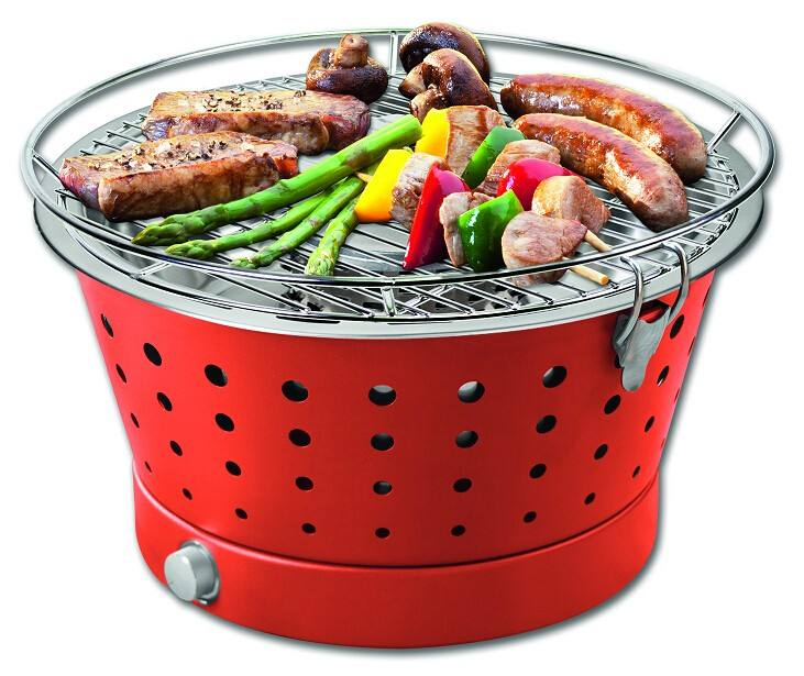 FDA/LFGB promotion smokeless charcoal portable table top grill bbq