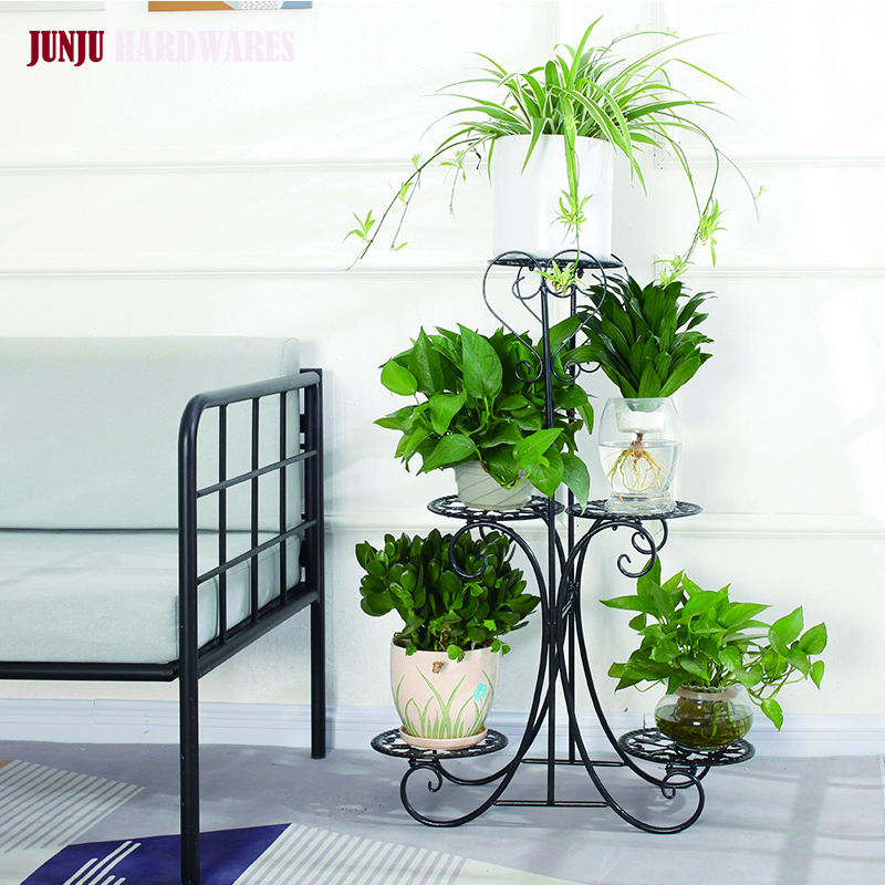 Wholesale Factory Direct Sale Mid Century Wire Plant Stand for Flower Pot