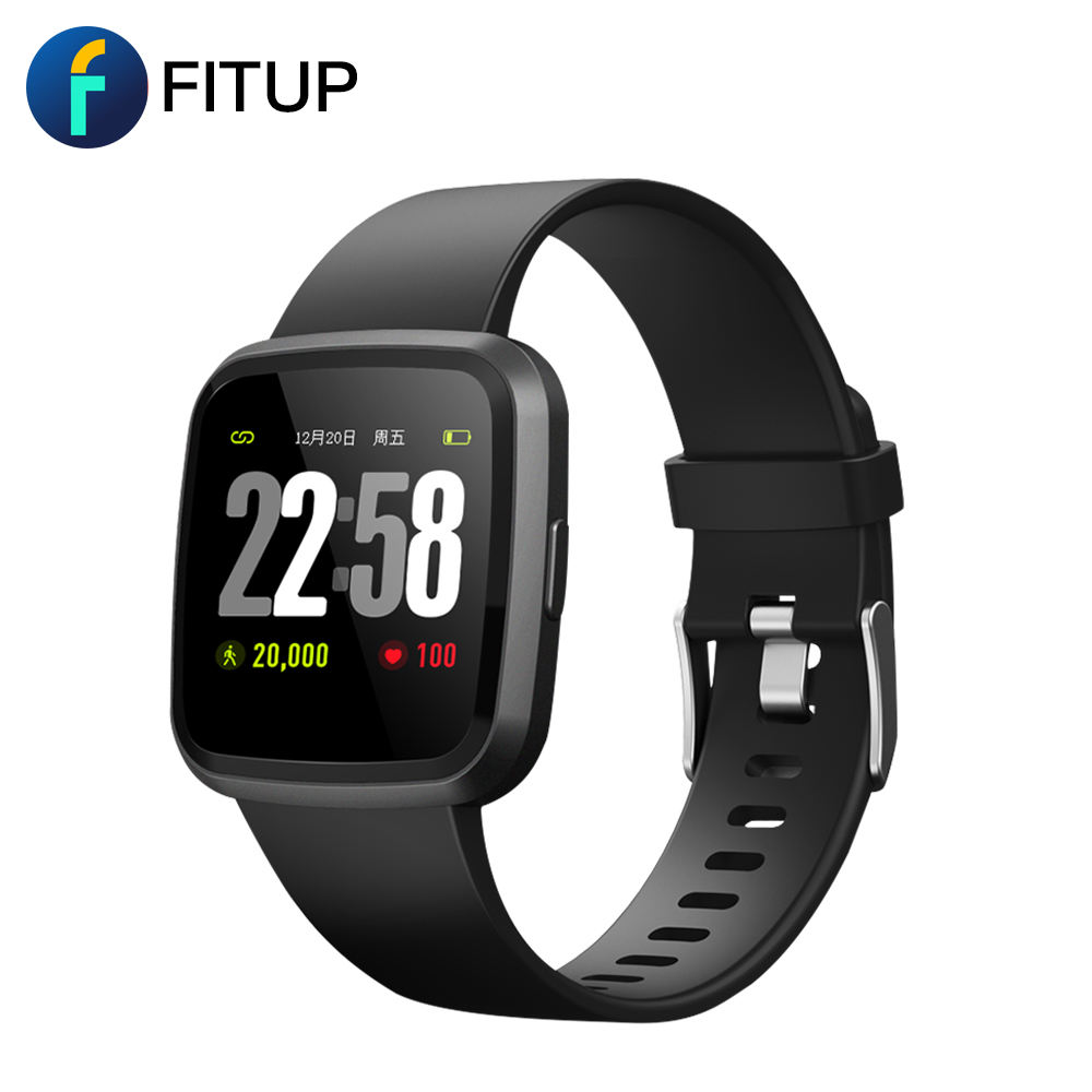 Fitness tracking IPS scherm bluetooth android smart armband
