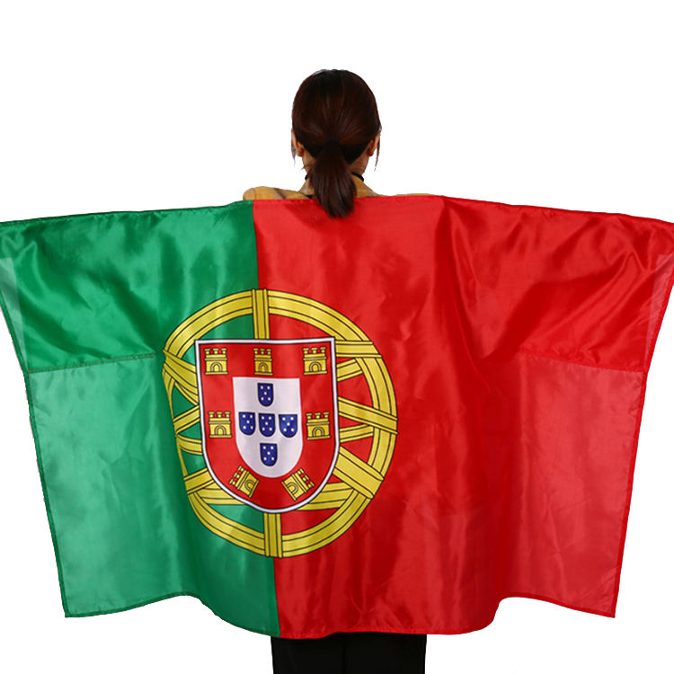 China manufacturer 3x5 polyester Portugal national body flag custom logo flags all countries