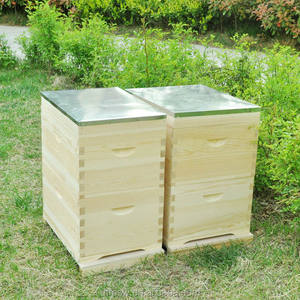 Hot sale 8 10 frames australian bee box beehive wooden bee hives