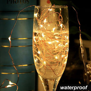Waterproof Copper Wire Led String Light For Christmas Decoration